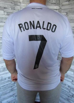 Футболка домашняя форма real madrid оригинал