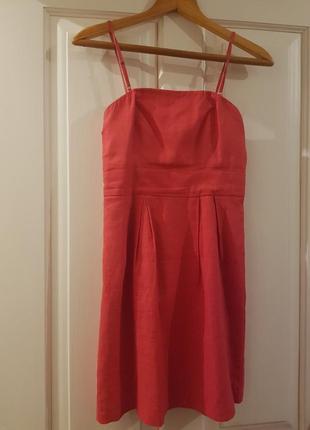 Червона літня сукня
