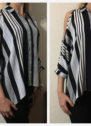 Безумно красивая💕 стильная 💕 блуза/рубашка в полоску