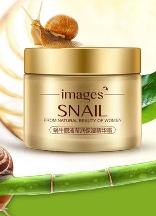 Cкраб для лица с муцином улитки images snail from natural beauty of women, 140 мл