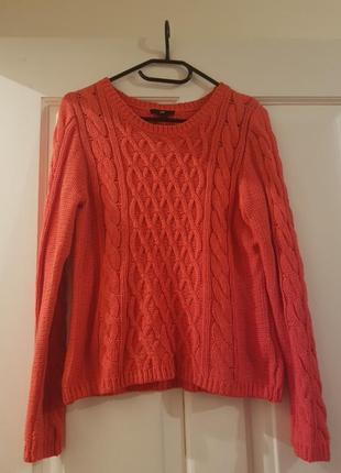 H&m червоний светр