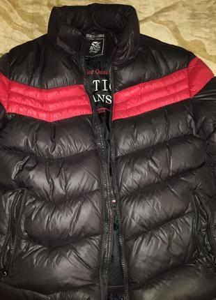 Крутая куртка пуховик pure tiger jeans