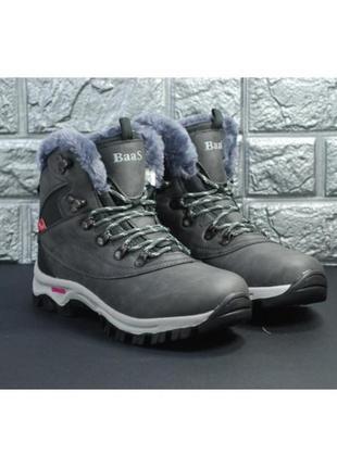 Женские зимние ботинки baas, 3 цвета, р-р 37-41