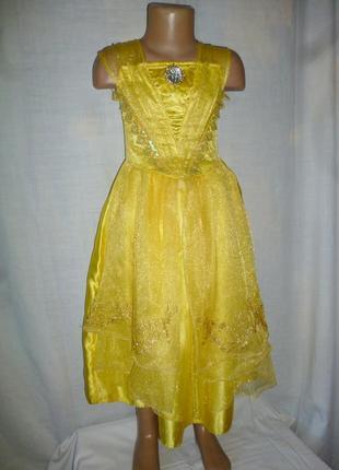 Платье белль на 5-6 лет