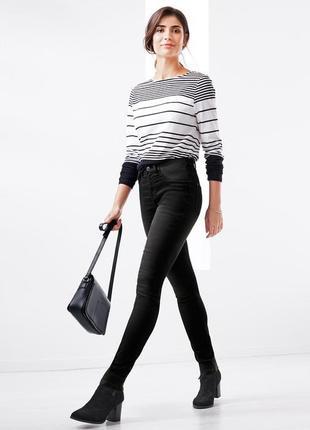 Шикарные джинсы черные от тсм р. 46, германия