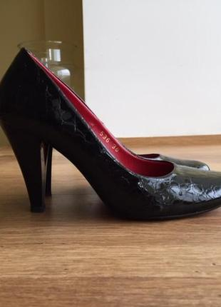 Черные туфли mario muzi 36р