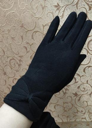 Шикарные женские перчатки на флисе