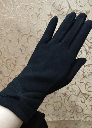 Сенсорные женские перчатки на флисе