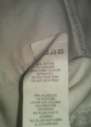 Очень  классные  белые  джинсы5 фото