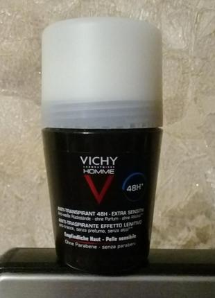Vichy deo anti-transpirant 72h шариковый дезодорант.