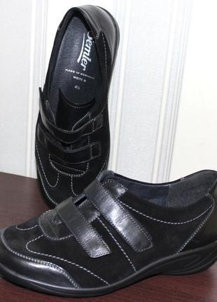 Шикарные туфли semler для проблемных ножек. оригинал р.37.