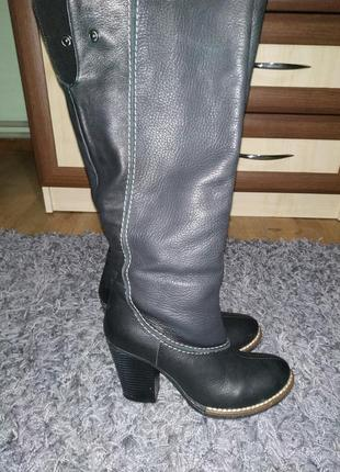 Шкіряні зимові чоботи італія