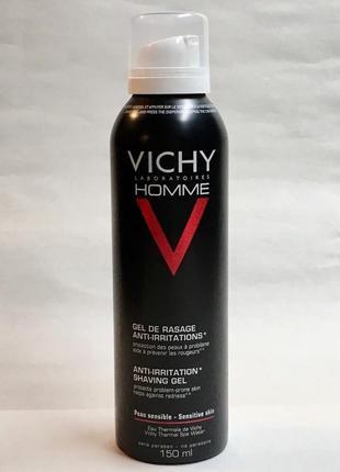 Vichy homme gel de rasage anti-irritations гель для бритья.