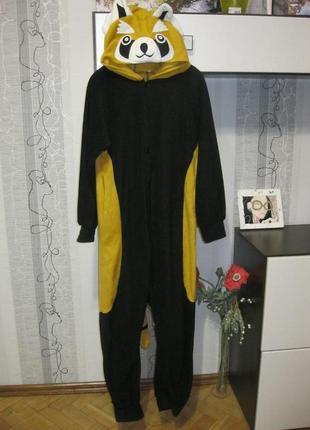 Ленивец кигуруми пижама слип халат костюм и лыжный тоже до 179 см
