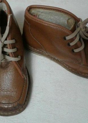 Ботинки для мальчика размер 22 по стельке 13 cv