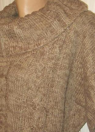 Теплый свитер-туника okay 48-52