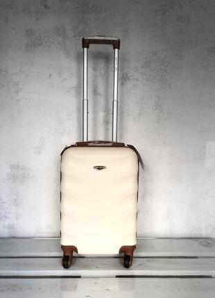 🔥качество! купить дорожный пластиковый чемодан для ручной клади валіза з доставкою1 фото
