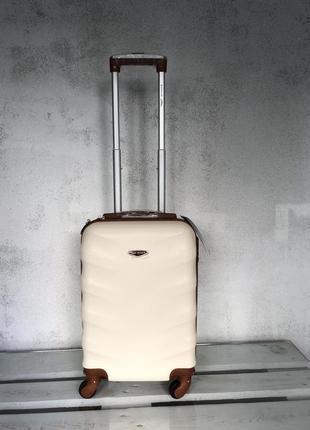 🔥качество! купить дорожный пластиковый чемодан для ручной клади валіза з доставкою3 фото