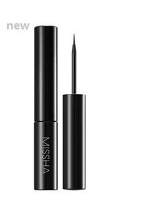 Подводка для глаз missha the style liquid sharp eyeliner black