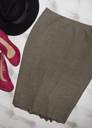 *vip* премиум класса шерстяная юбка от ann taylor