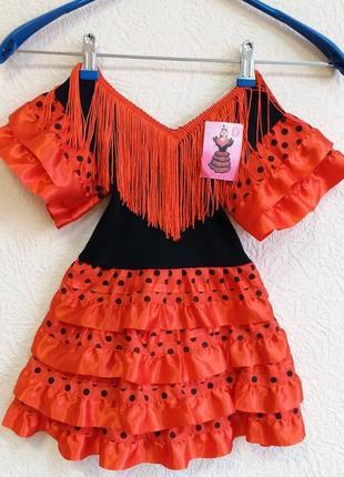 Карнавальный костюм на девочку 2-4 года