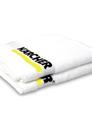 Новое! большое банное белое полотенце
