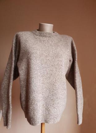 Стильный свитер шерсть l.o.g.g. швеция