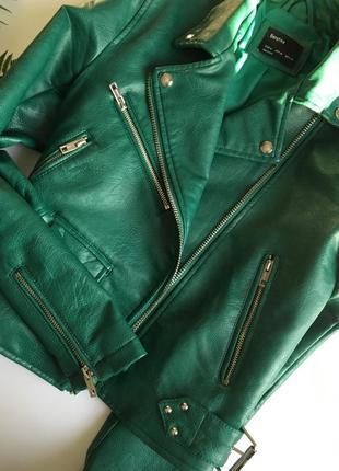 Офигенная куртка - косуха от bershka