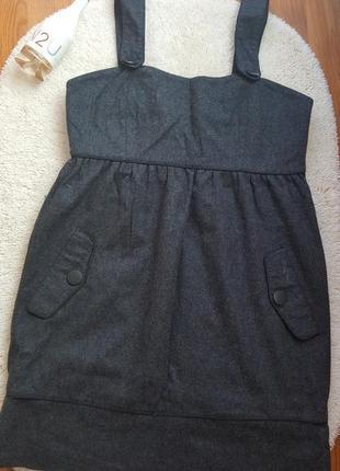 Сарафан платье тёплое шерсть