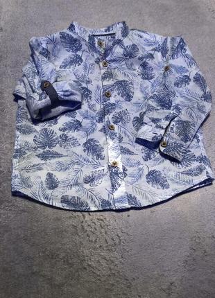 Рубашка zara baby boy