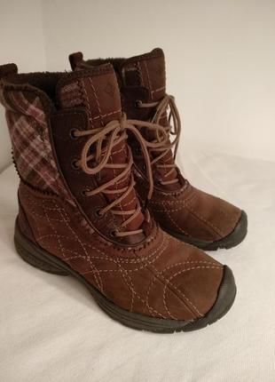 Ботинки зимние columbia р.38