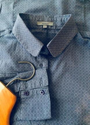 Рубашка в мелкий принт/montego
