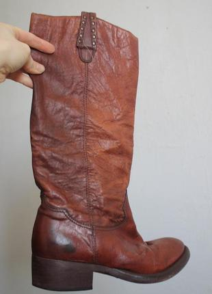 Шкіряні чоботи / кожаные итальянские сапоги