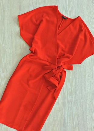 Яркое платье - комоно на запах