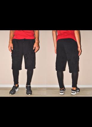 Рваные штаны, шорты с лосинами asos