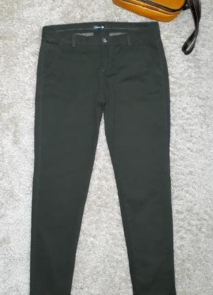 Брюки джинсы цвета хаки от chicoree
