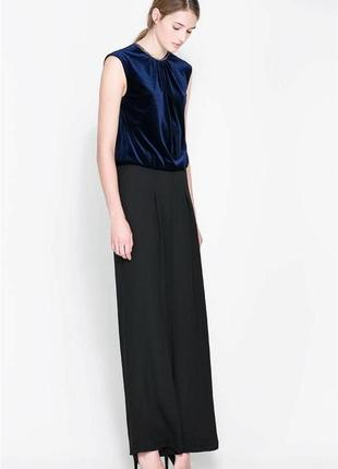 Zara ромпер брюками комбез комбинезон . шикарный