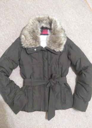 Куртка пуховик abercrobie