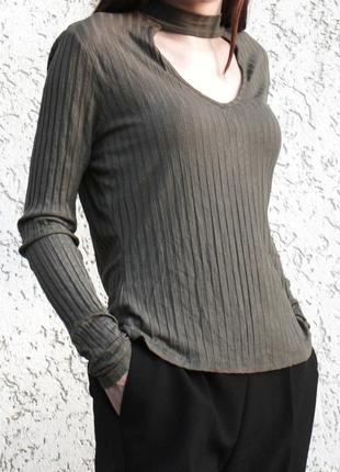 Блуза с воротником-чокером 💘