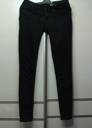 Джинсы черные skinny jeans select на низкой посадке