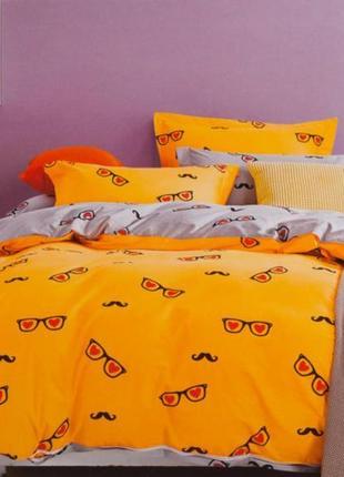 Подростковое полуторное постельное белье viluta сатин 225 очки