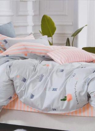 Подростковое постельное белье viluta сатин 258 кактусы
