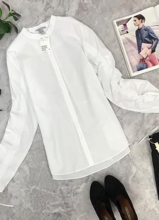 Стильная коттоновая рубашка от h&m   bl1845048  h&m