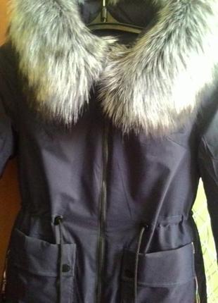 Теплая зимняя парка-пальто.срочно!