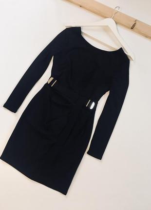Красивое чёрное платьице