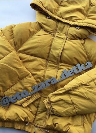 Стеганая куртка zara xs-xxl