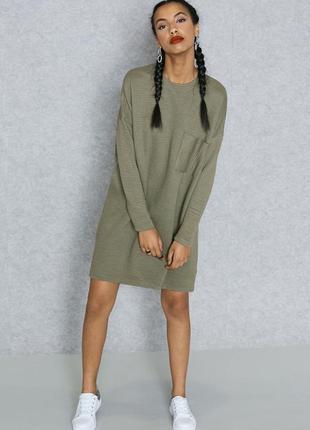 Стильное оверсайз платье missguided