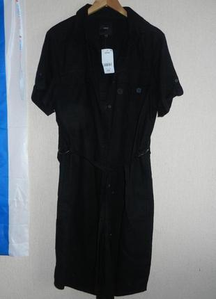 Трендовое платье-рубашка