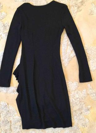 Шерстяное платье2