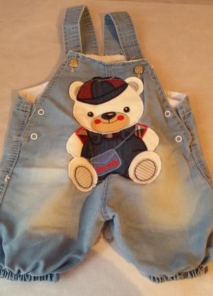 Комбінізон джинсовий літо 86 розмір